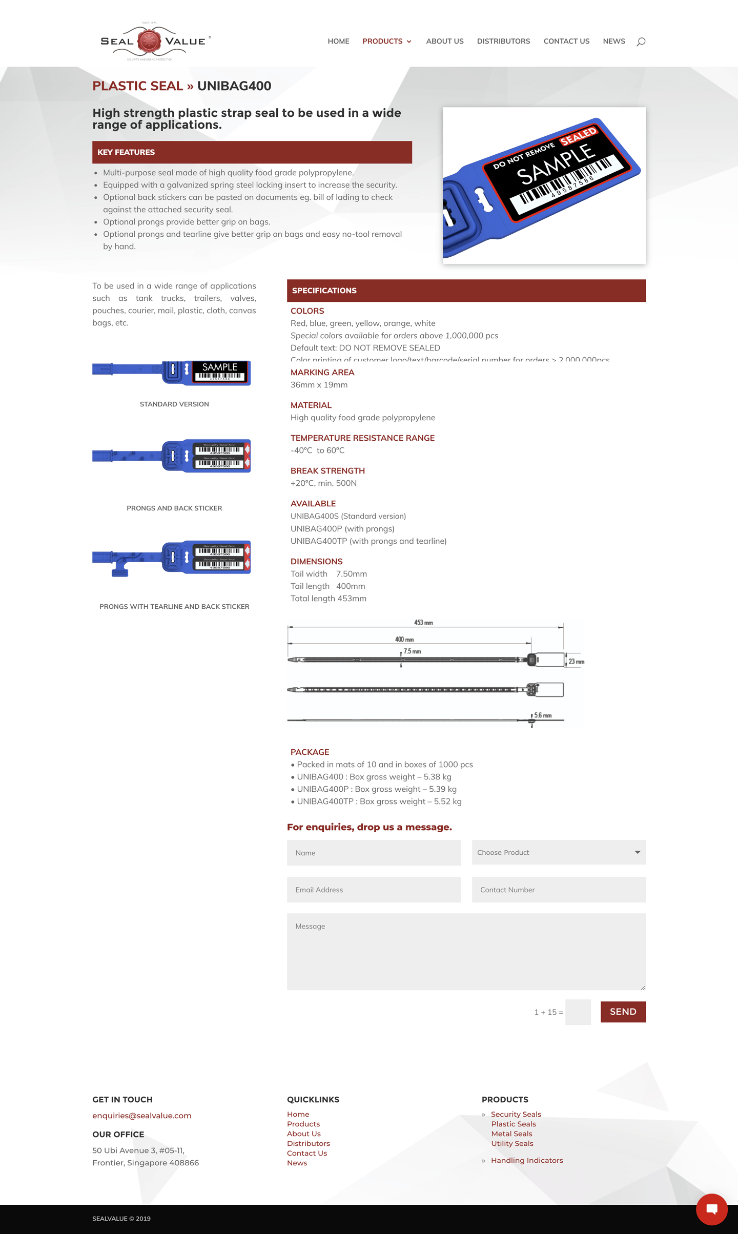 Design & Analytics screenshot-website-2 SealValue