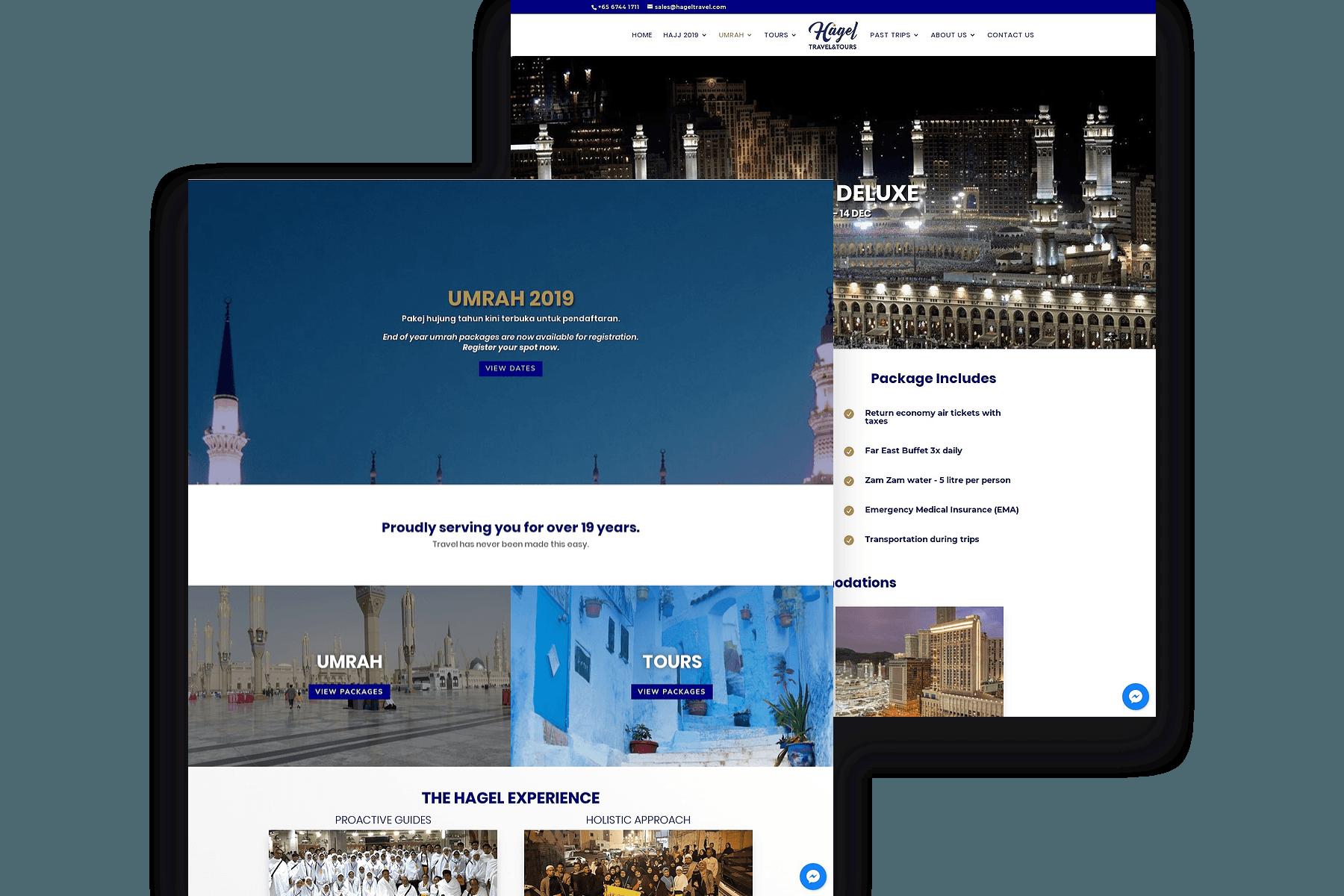 Design & Analytics portfolio_hagel1 Hagel Travel & Tours