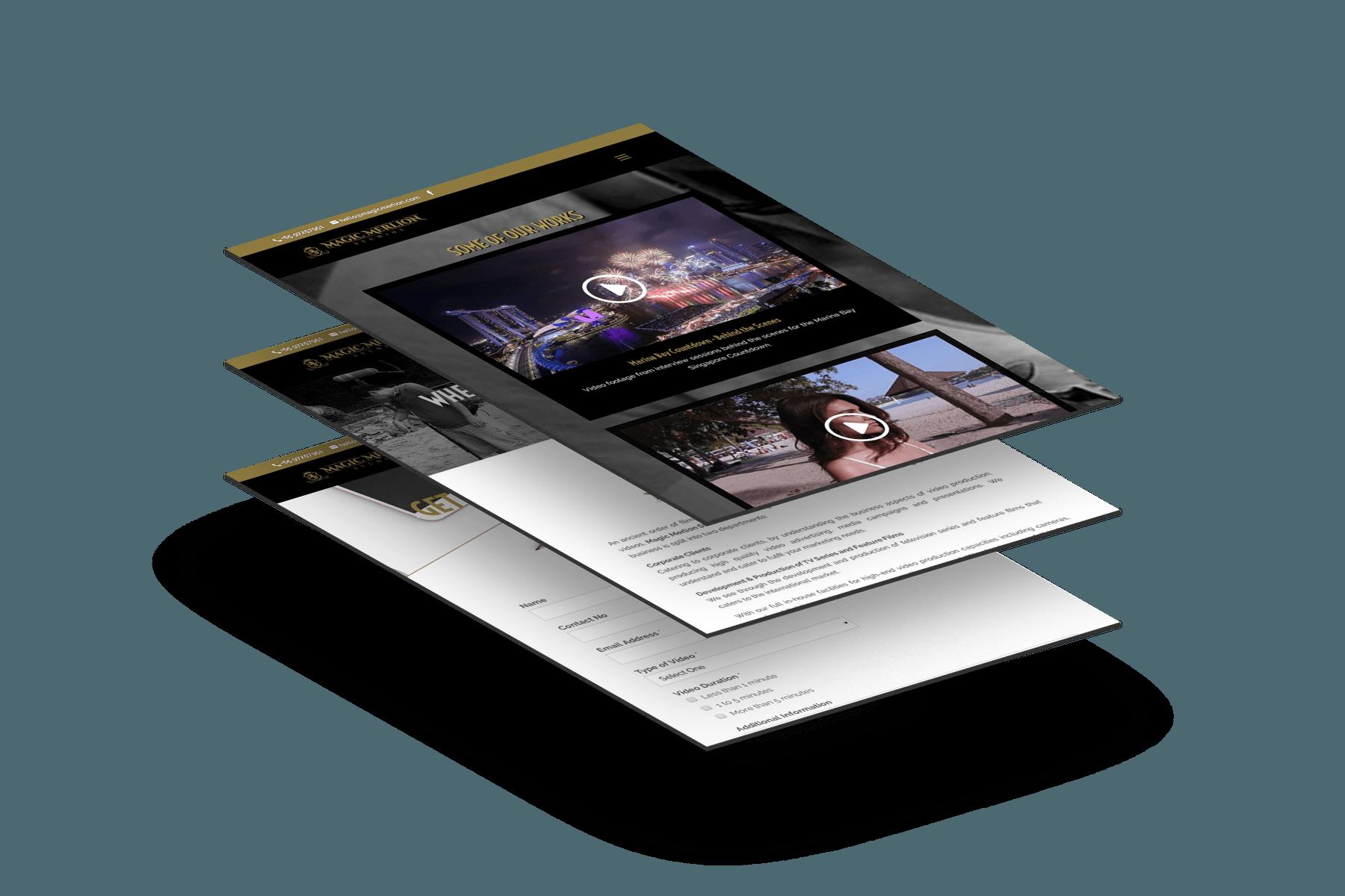 Design & Analytics portfolio_magicmerlion_stack Magic Merlion Studios