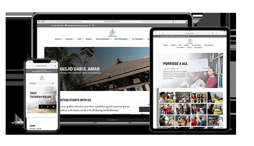 Design & Analytics darul-aman-site Portfolio