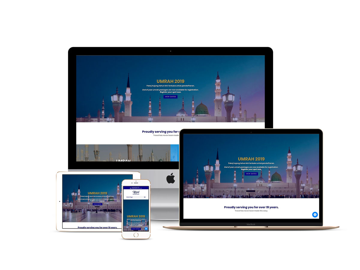 Design & Analytics hagel-website2 Hagel Travel & Tours