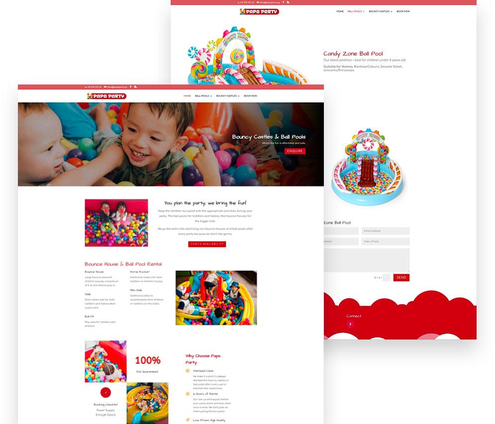 Design & Analytics papaparty-website Papa Party (SG)