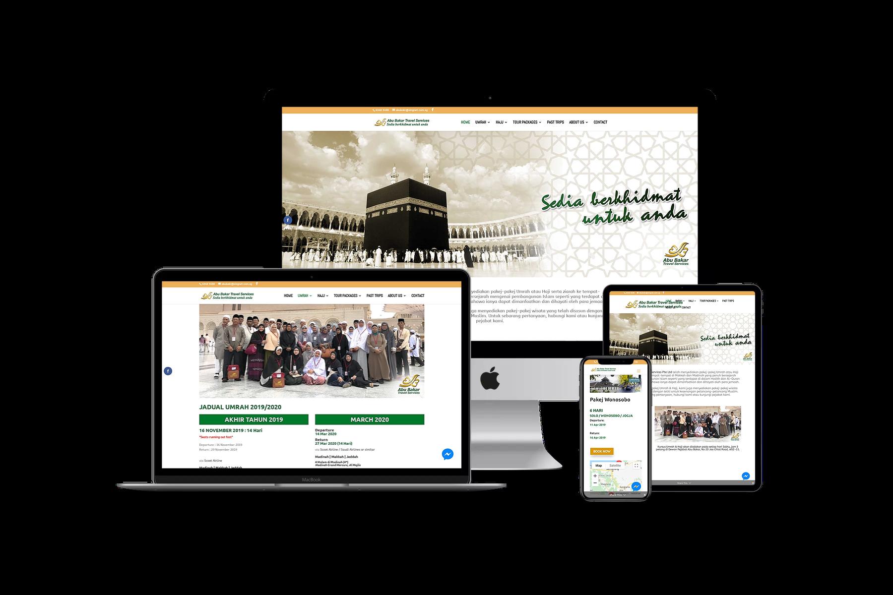Design & Analytics portfolio_abts Abu Bakar Travel Services