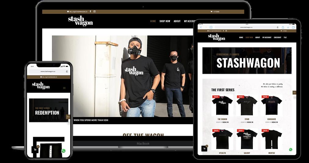 Design & Analytics stashwagon-website-page Stashwagon