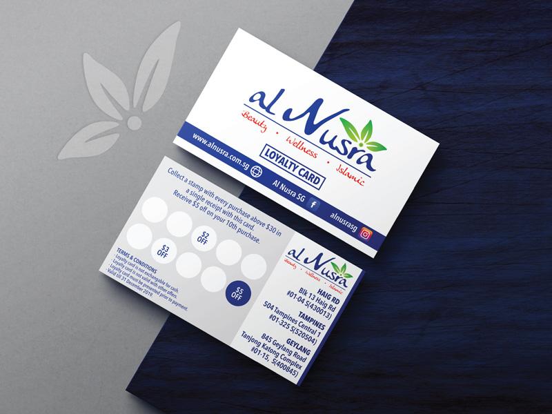 Design & Analytics al-nusra-loyaltycard Al Nusra