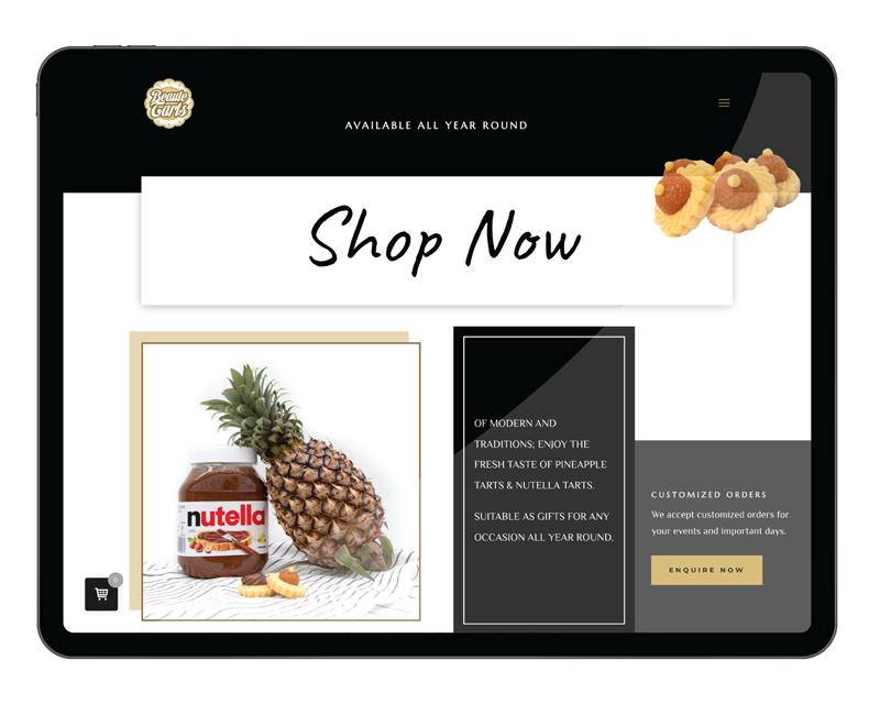 Design & Analytics beautetarts-ipad-portfolio Beaute Tarts