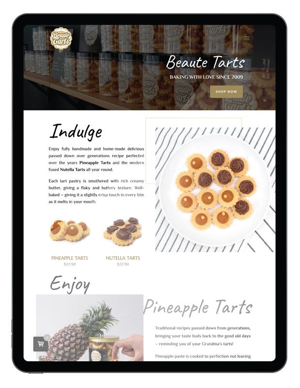 Design & Analytics beautetarts-portfolio2 Beaute Tarts