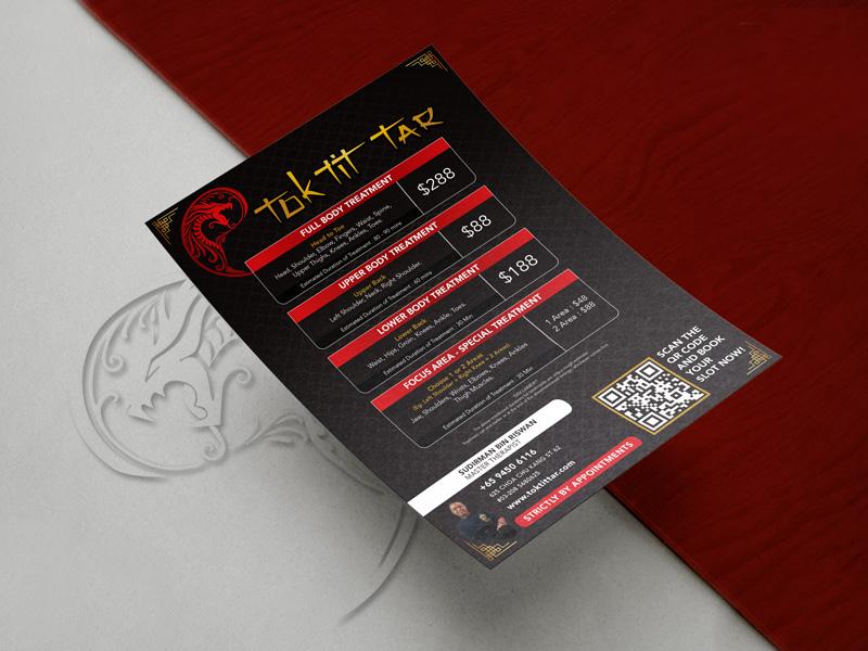 Design & Analytics toktittar_A5_Flyer_portfolio Tok Tit Tar